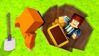 Minecraft: CAÇA AO TESOURO PERDIDO !!