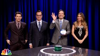 Jimmy and Sofia Vergara join forces against James Marsden and Steve Higgins for a game of Catchphrase. Subscribe NOW to The Tonight Show Starring ...