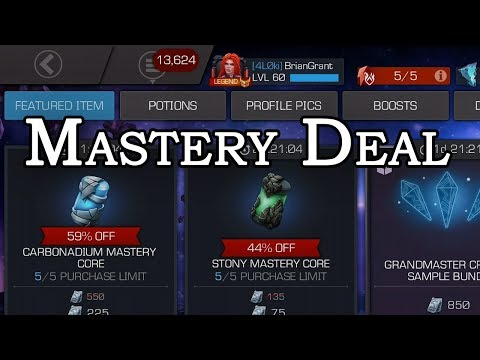 Mastery Core Deal - What to Unlock? | Marvel Contest of Champions