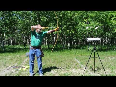 KARL The Longbow ,GERAbows ,chronograph Test