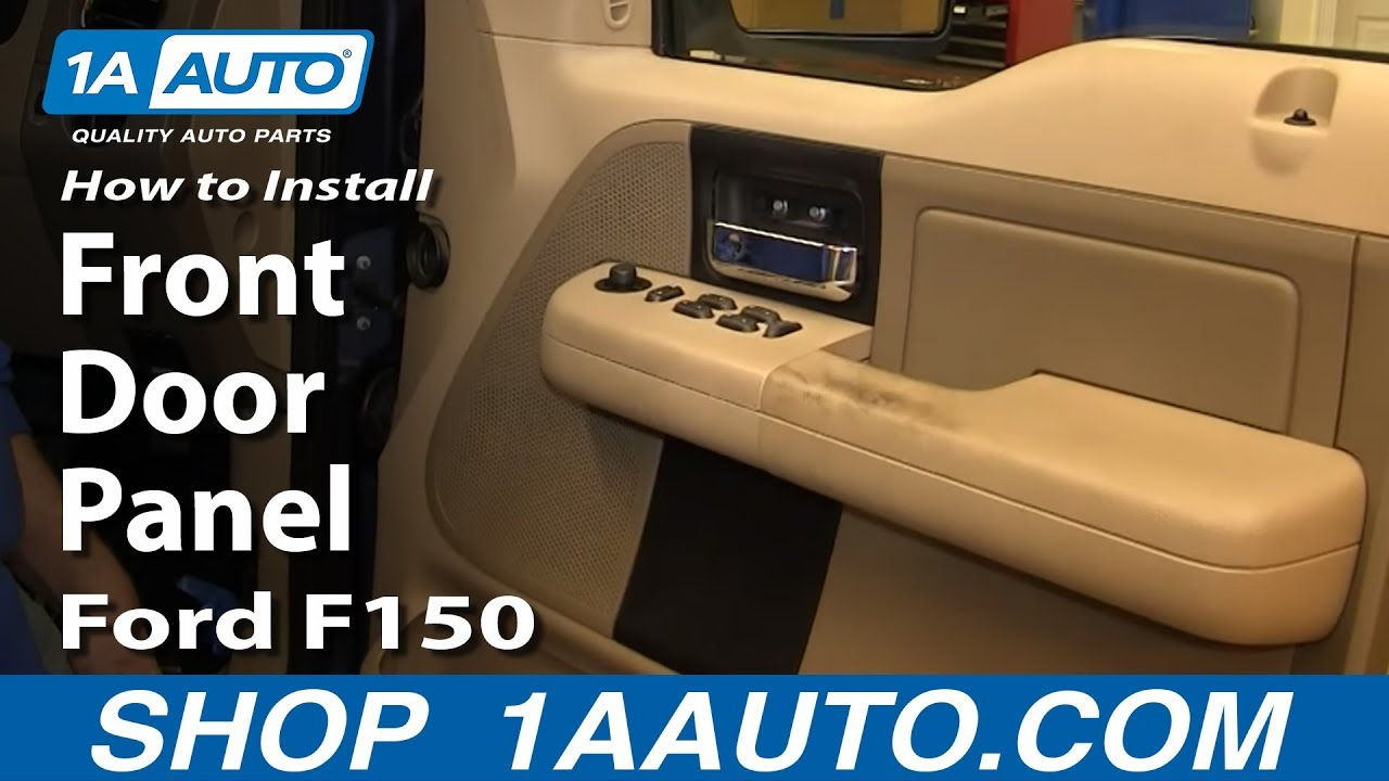 How To Replace Front Door Panel 05-08 Ford F150
