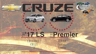 New 2017/2018 Chevrolet Cruze Premier VS Cruze Base LS | Pricing & Options - Versus Review
