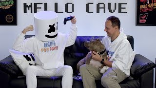 Marshmello x Hope For Paws - Making Lives Happier | #YouTubeGiving