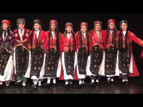 İSTANBUL YEDİTEPE HALKOYUNLARI 2015-2016SENESONU GÖSTERİSİ -URFA
