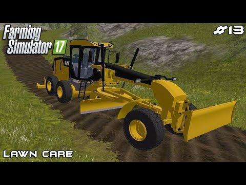 Building road | Lawn Care | Farming Simulator 2017 | Episode 13