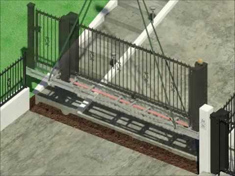 39 the kindly gate 39 cancello ad alzata bilanciato pavime for Serie futura cancelli