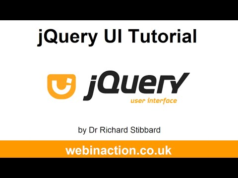 jQuery UI tutorial Lesson 2: Using sortable connectWith to connect multiple lists