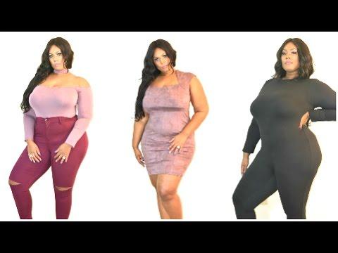 Fashion Nova Plus Size Try On Glam Goddezz Youtube
