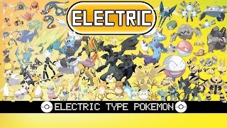 Pokemon Reimagined As Electric Types