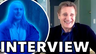 Liam Neeson Reveals What Force Ghost Qui-Gon WOULD Say To Obi-Wan In Disney+ Series | FUN INTERVIEW