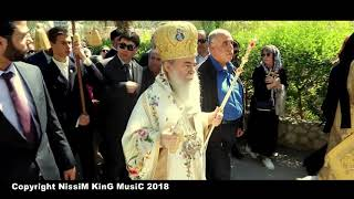 Greek Orthodox Christian Byzantine Music دير حجلة - اريحا - تصوير جوي 2018