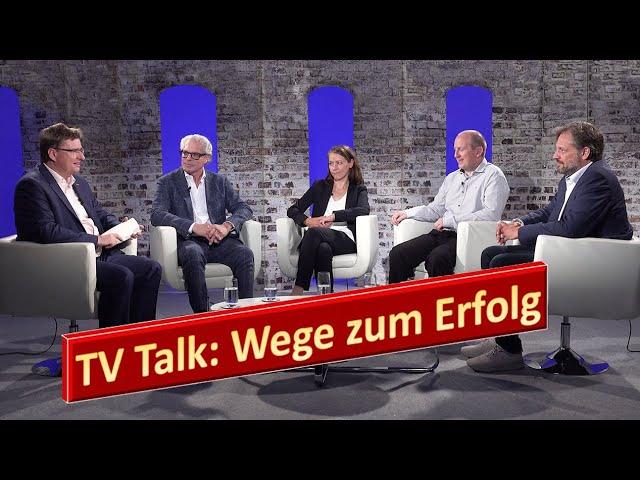 Wege zum Erfolg - Fernsehtalkshow mit tollen Gästen *Top Szenen*