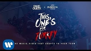 Скачать David Guetta Ft Zara Larsson This One S For You Turkey UEFA EURO 2016 Official Song