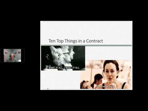 Top 10 things to look for in a job contract - Career Webinar