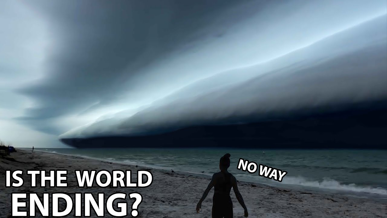 RARE: Tsunami In The Sky   Storm Time-lapse