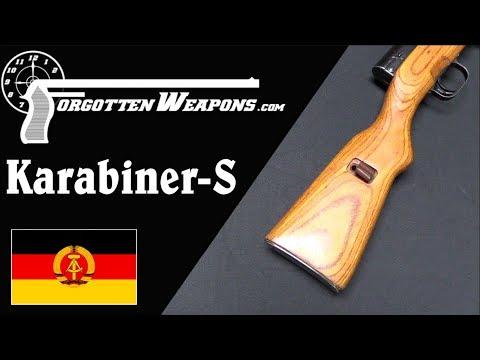 Karabiner-S: The East German Unicorn SKS