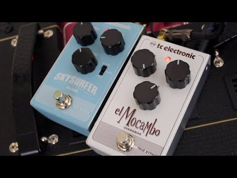 TC Electronic El Mocambo Overdrive Pedal Demo
