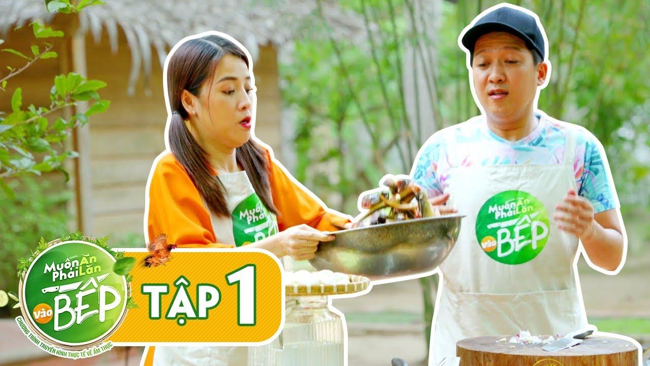 Full #1 | Trường Giang, Puka về miền Tây, trổ tài làm lươn nấu khoai sọ | Muốn Ăn Phải Lăn Vào Bếp