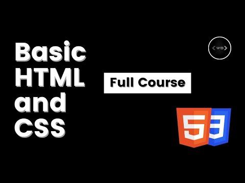 Web-Development Using HTML 5 & CSS3