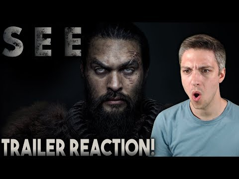 SEE - Official Trailer | Apple TV+ Reaction!