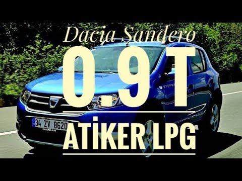 Dacia Sandero Stepway 0.9 Turbo Otogaz Testi. 0.9 Motor Böyle Gider mi ? Autogas Lpg