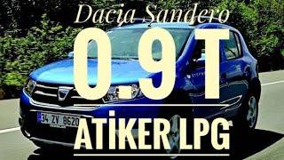 Dacia Sandero Stepway 0.9 T Atiker LPG Testi ;0.9 Motorda Yok Böyle Performans ? Autogas Lpg