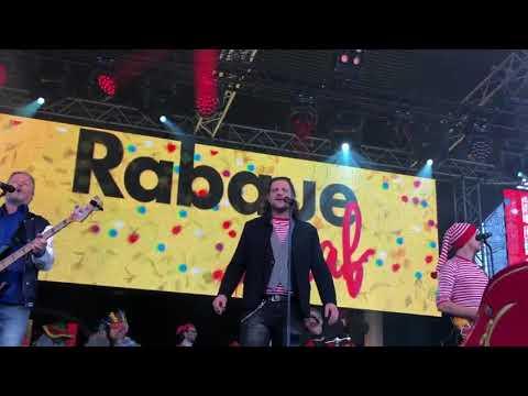 """Rabaue - """"Ich hab gute Laune"""" @Wieverfastelovend 2018 mit Radio Köln"""