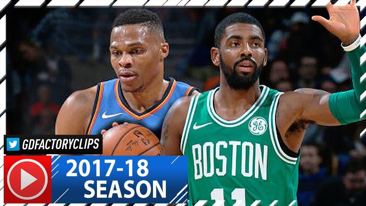 e41681b877e5 Kyrie Irving vs Russell Westbrook ELITE PG Duel Highlights (2017.11.03)  Celtics vs Thunder - EPIC!