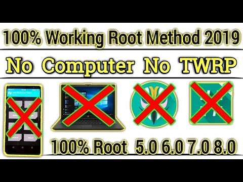 100% Working Rooting Method 2019 [ Without Computer Without TWRP