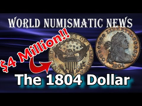 Why A Real 1804 Silver Dollar Coin is Worth Millions