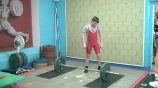 Булдаков Михаил, вк 69, Толчок 45 кг