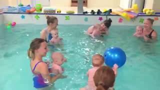Игра в мач-Обучение плаванию в бассейне в Минске для детей (Курсы,Секция,занятия)