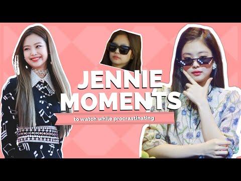 blackpink jennie moments
