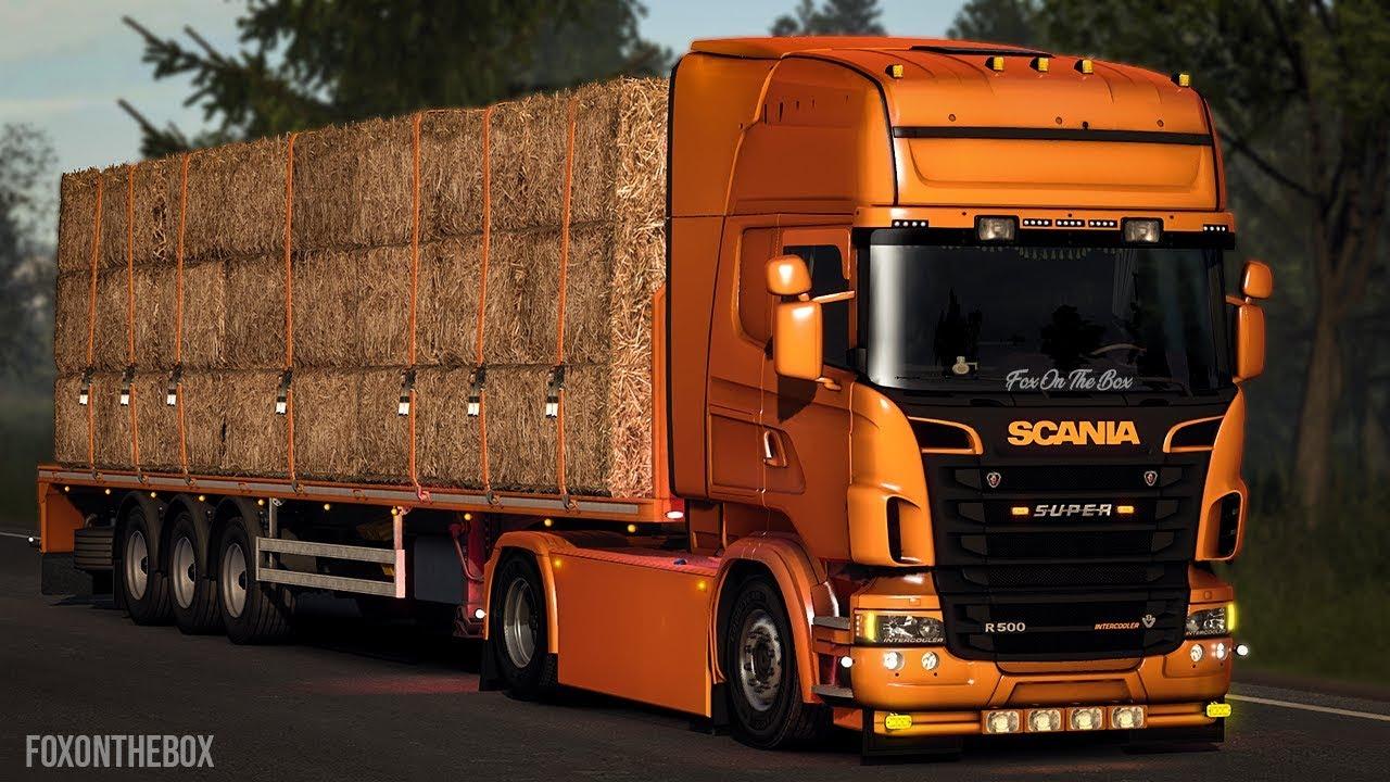 Scania R & Streamline Mega Mod By Fred | Euro Truck Simulator 2