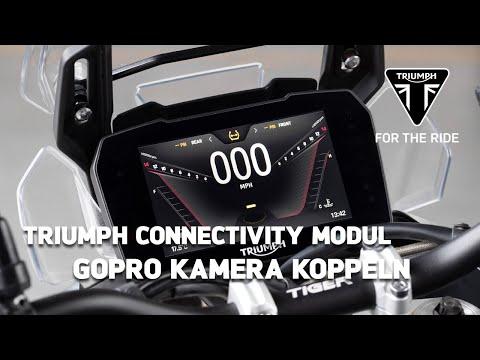 Triumph Motorrad Connectivity Modul - GoPro Kamera koppeln