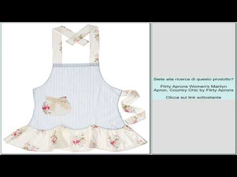 Flirty Aprons Women's Marilyn Apron, Country Chic By Flirty Aprons