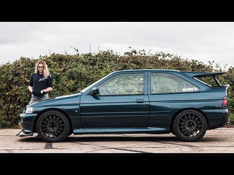 Katie's Ford Escort RS Cosworth - My childhood dream car