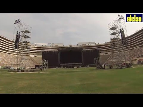 ALCISA ESTRUCTURAS - ROLLING STONES OLE TOUR 2016 - LIMA, PERU