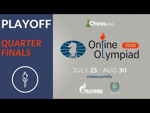 Online Olympiad   Quarterfinals   India Vs Armenia  