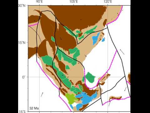 Sundaland (Southeast Asia) basin evolution since the Eocene