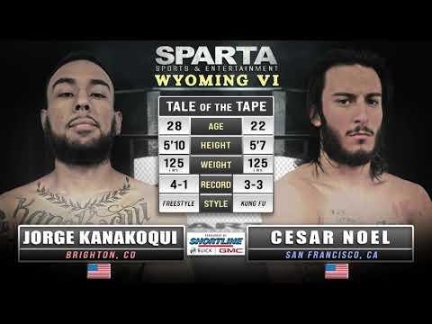 Sparta WY6 Jorge Kanakoqui v Cesar Noel