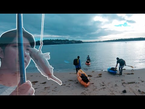 Kayaking And Fishing At Bundeena Royal National Park, Sydney