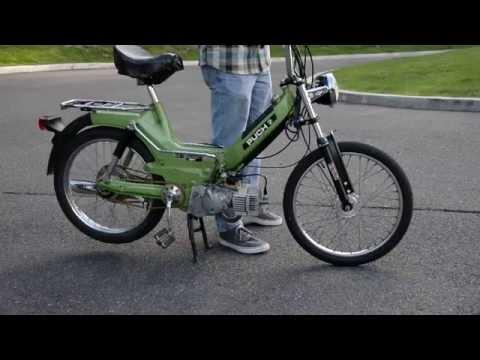 EBR forks motobecane fit job by Willie Mcphee