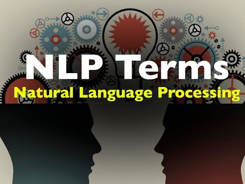 Some NLP Terms you need to know