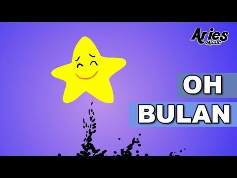 Alif & Mimi - Oh Bulan (Animasi 2D) lagu kanak kanak