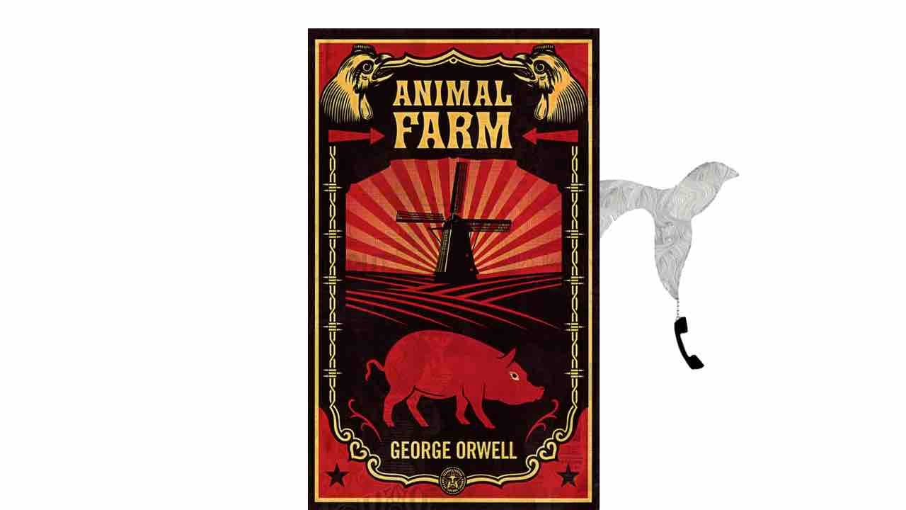 george orwell's animal farm an anaysis George orwell's animal farm george orwell's goal in writing the novel animal farm was to portray the events surrounding the russian revolution that took place in 1917 orwell's tale of animal farm is seemingly a story of how a group of farmyard animals plot to overthrow their owner and seize control of the land.