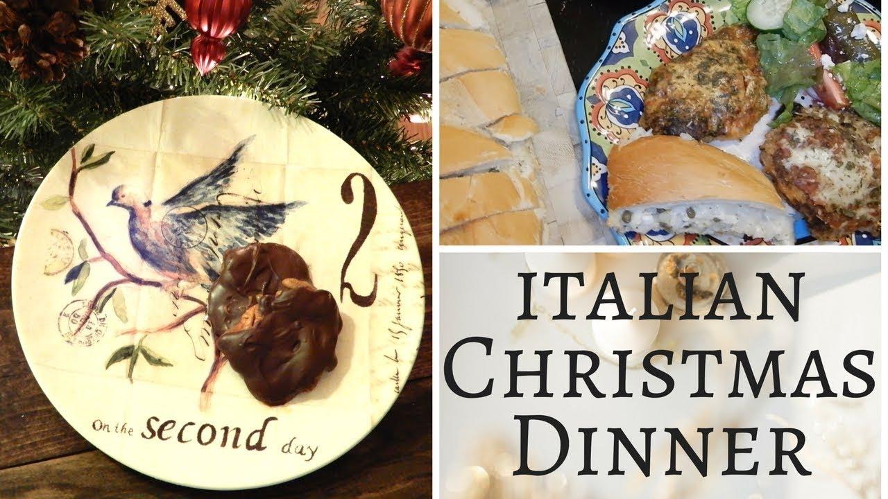 italian christmas dinner 12 days of christmas 2 turtle doves recipes - Italian Christmas Dinner