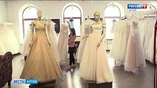 Барнаул попал в тройку городов, где популярны объявления о продаже свадебных платьев