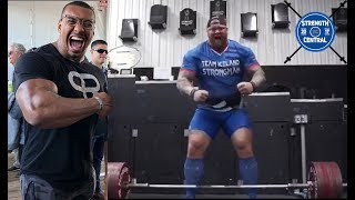 LOTW (February 2019) - Is Thor The Best Deadlifter Alive?  Larry Wheels Going to Dubai For Strongman