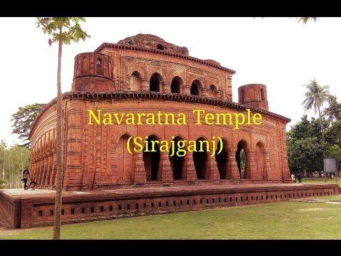 Sirajganj : Navaratna Temple (নবরত্ন মন্দির, হাটিকুম্রুল, উল্লাপাড়া)